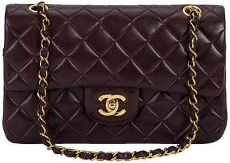 One Kings Lane Vintage Chanel Brown Classic Double-Flap Bag - Vintage Lux