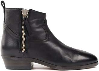 Golden Goose Stitching Detail Ankle Boots