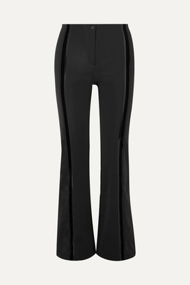 Fendi Roma Stretch-cady Flared Ski Pants - Black