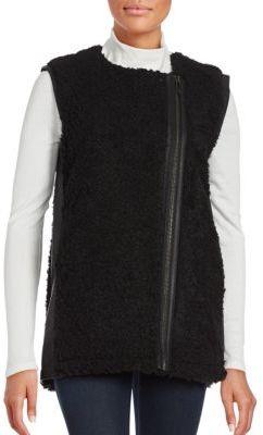 Oversized Faux Fur Vest $69.50 thestylecure.com