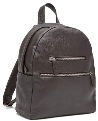 Eleventy Deerskin Double Zip Backpack