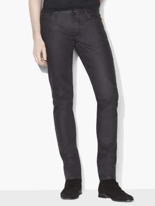 John Varvatos Chelsea Coated Cotton Jean