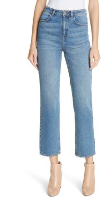 A.L.C. Malone Studded Straight Leg Jeans