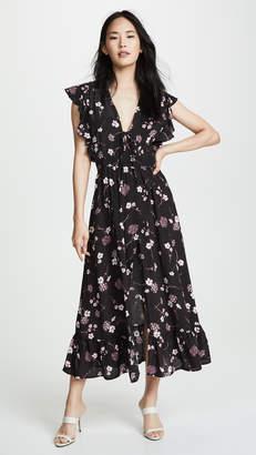 MinkPink Night Garden Maxi Dress