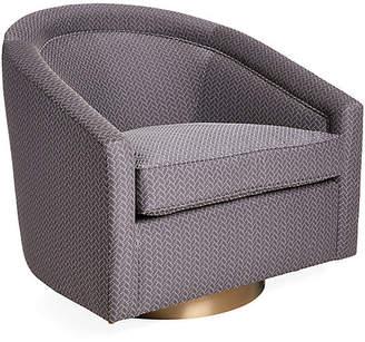 Kim Salmela Benson Swivel Glider Chair - Graphite