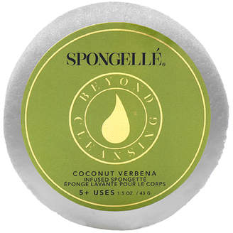 Spongelle Spongette Travel Size Body Wash Infused Sponge - Coconut Verbena