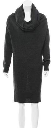 Lanvin Wool Turtleneck Dress