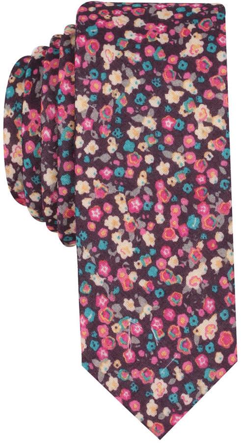 Original Penguin Men's Gayle Floral Skinny Tie