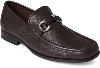 Salvatore Ferragamo Grandioso Gancini Bit Leather Loafers