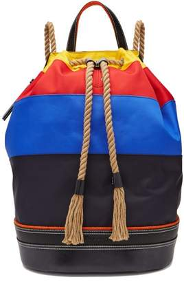 J.W.Anderson Sailor Duffle Backpack - Mens - Multi