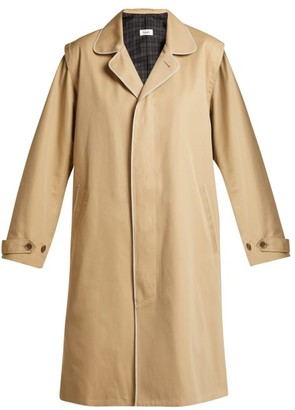 Chimala Single Breasted Cotton Twill Trench Coat - Womens - Camel