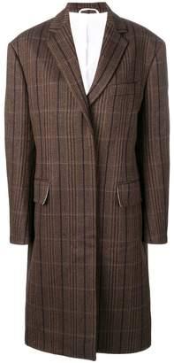 Calvin Klein oversized tweed coat