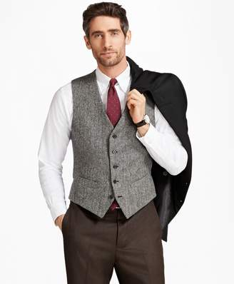 Brooks Brothers BrooksTweed Herringbone Vest