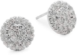 Saks Fifth Avenue Women's Diamond & 14K White Gold Earrings