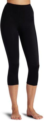 Dr. μ Dr. Rey Shapewear Women's Long Leg Step In Short, Black, Medium