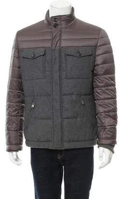 HUGO BOSS Boss by Virgin Wool Puffer Jacket