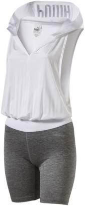 En Pointe Q2 Women's Sleeveless Hooded Jumpsuit