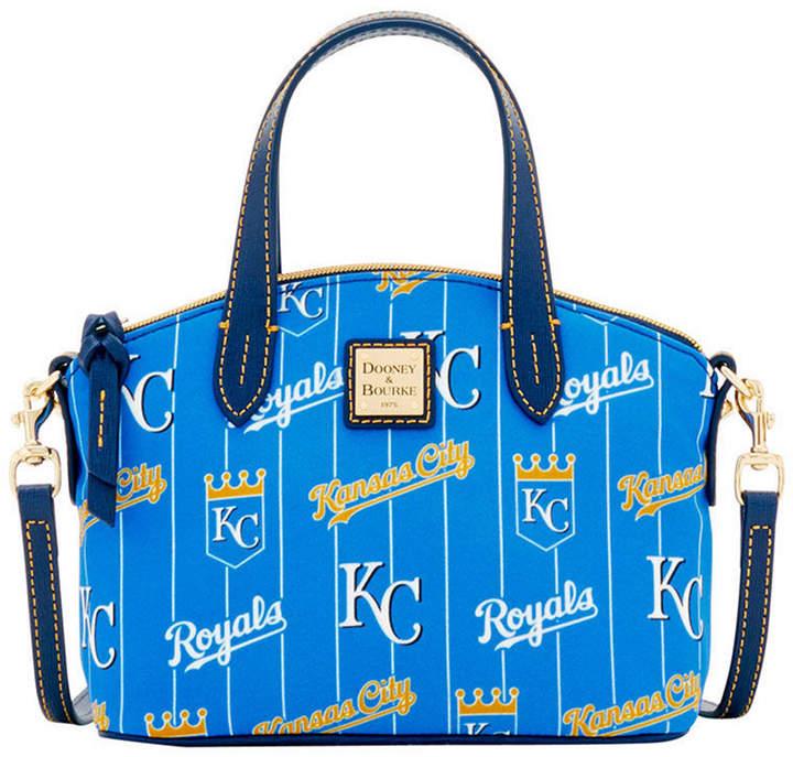 Dooney & Bourke Kansas City Royals Nylon Mini Crossbody Satchel - BLUE/NAVY - STYLE