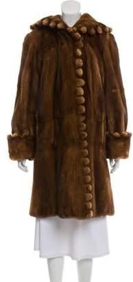 Dennis Basso Reversible Mink Fur Coat