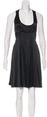 Jasmine Di Milo Silk Sleeveless Mini Dress