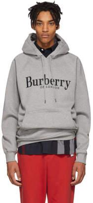 Burberry Grey Clarke Hoodie