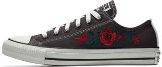 Nike Converse Custom Chuck Taylor All Star Rose Embroidery Low Top Shoe