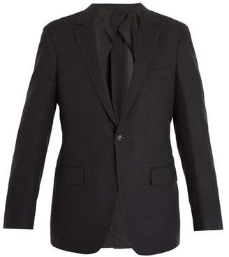 Kilgour Single-breasted wool-blend blazer