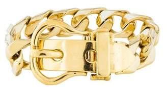 18K Buckle Bracelet