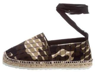 Pierre Hardy Printed Round-Toe Espadrilles w/ Tags