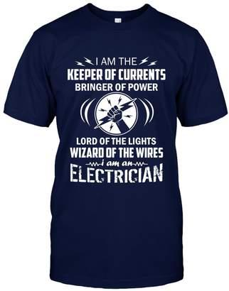 Crazy Love Shirts Electrician Cool Tee Shirt - I'm An Electrician Beautiful T-Shirt Design Unisex (XXL,Navy)