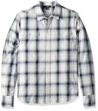 Paige Men's Everett Long Sleeve Plaid Shirt