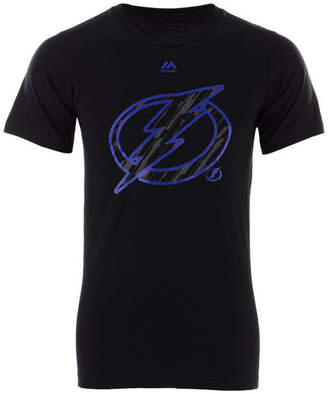 Majestic Men's Tampa Bay Lightning Hash Marks T-Shirt