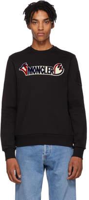 Moncler Genius 2 1952 Black Logo Sweatshirt