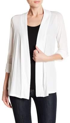 Splendid Open Front Jersey Cardigan