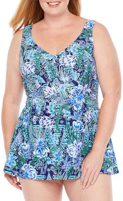 Maxine Of Hollywood AZUL BY Azul by Pattern Swim Dress Plus