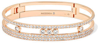 Möve Messika Romane 18-karat Rose Gold Diamond Bracelet