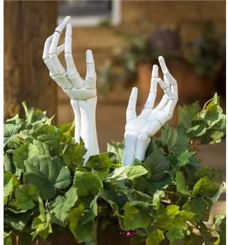 Plow & Hearth Spooky Halloween HandGarden Stake