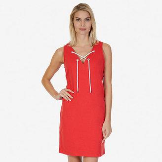 Lace-Up Dress $69.50 thestylecure.com