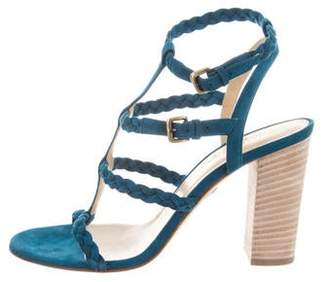 Ritch Erani NYFC Suede Cage Sandals w/ Tags