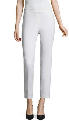 Liz Claiborne 27 Pull-On Slim Fit Ankle Pants