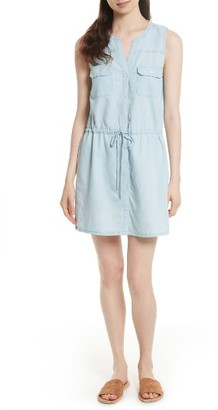 Women's Soft Joie Twana Chambray Shirtdress $198 thestylecure.com