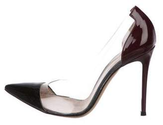 Gianvito Rossi Plexi PVC Pumps