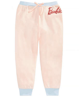 Barbie Big Girls Capri Jogger Pants