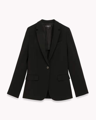 Theory (セオリー) - 【Theory】Synthetic Crepe Staple Blazer B