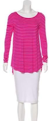 Calypso Long Sleeve Striped Top