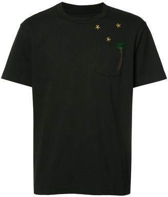 Sacai pocketed T-shirt