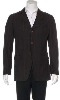 Dolce & Gabbana Woven Three-Button Sport Coat