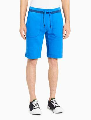 Calvin Klein slim fit tonal jogger shorts