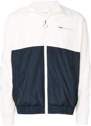Wood Wood two-tone zipped jacket