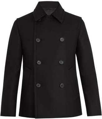 Prada Double-breasted wool pea coat